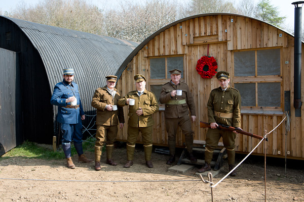 WW1 Nissen Bow HUt at Chiltern Open Air Museum