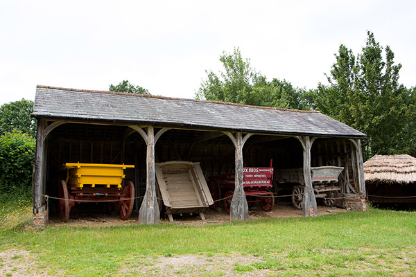 Gorehambury Cart Shed at Chiltern Open Air Museum