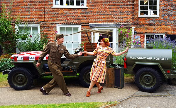 1940s VE Day celebrations in Bucks