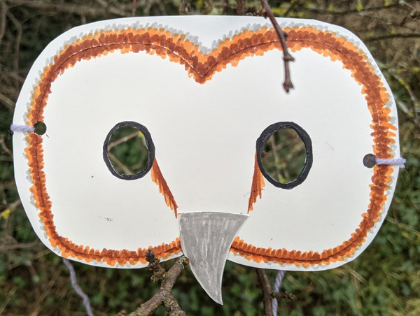 owl mask craft