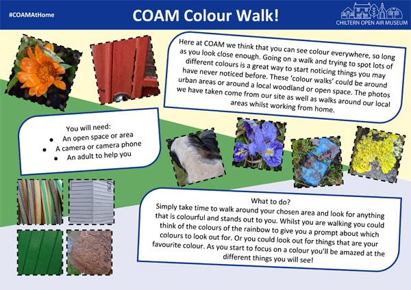 Colour Walk instructions