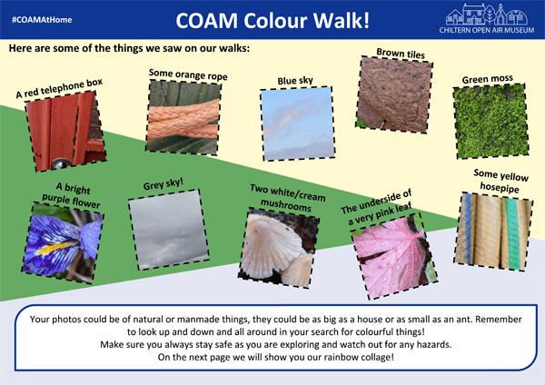 Colour walk guide