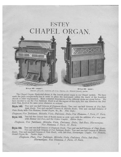 Estey Chapel Organ