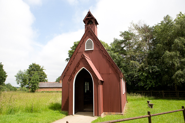 Henton tin chapel at Chiltern Open Air Museum