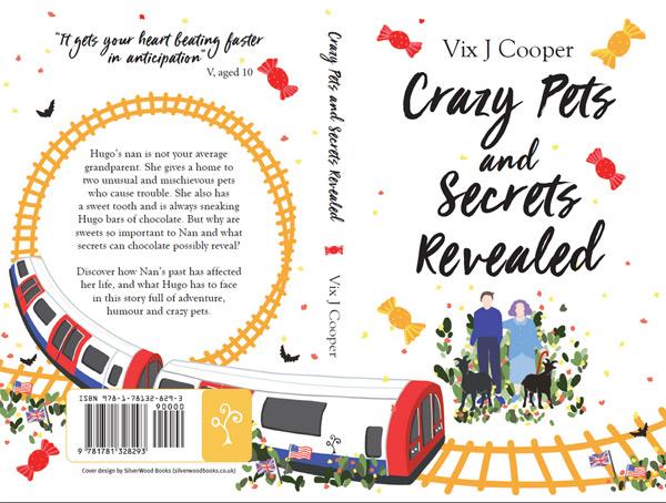 Crazy Pets and Secrets Revealed Book Cover