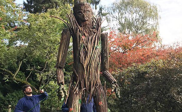 Arbor the tree puppet