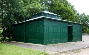 Edwardian toilets at Chiltern Open Air Museum
