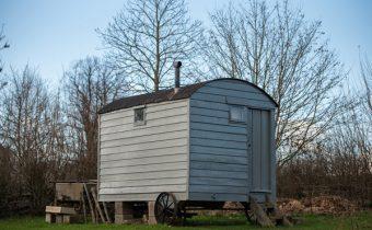 Shepherd's living van