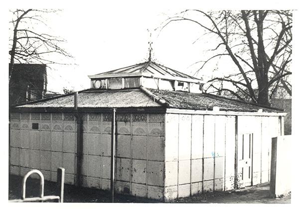Caversham toilets in their original location